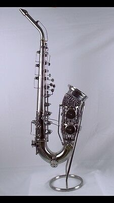Saxophone /Sculpture/Stainless Steel