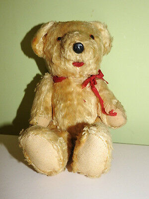 VINTAGE  1950's 60's  GOLDEN TEDDY  BEAR.