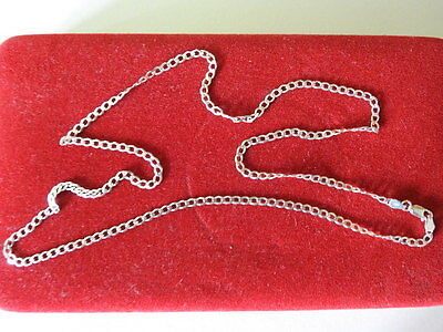 Heavy Quality Solid Silver  Chain. 6.4 Grams. Length  24 Inches.