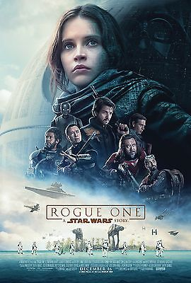 ROGUE ONE 11x17 MINI MOVIE POSTER STAR WARS THE FORCE COLLAGE