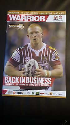 Wigan Warriors v St Helens Super 8s Rugby League Aug 2016