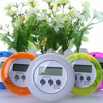 LCD Magnetic Stop Watch Kitchen Alarm Clock Digital Timer