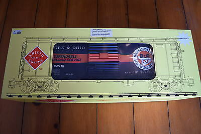 Aristo Craft Trains ART46011 Steel Box Car - G Scale Wagon