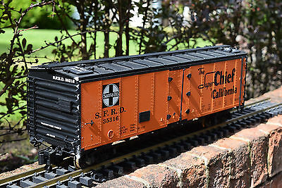 USA Trains Santa Fe Super Chief California Boxcar - G Gauge Wagon