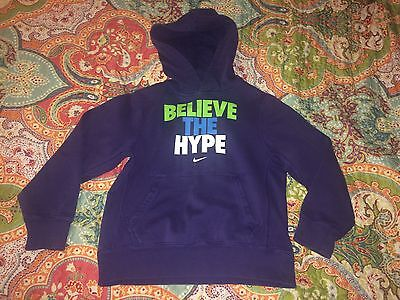 GUC Purple NIKE Youth Pullover Hoodie Size Small
