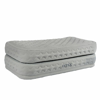 Intex Supreme Air-Flow Bed Twin 64462 Luftbett Luftmatratze Fiber-tech
