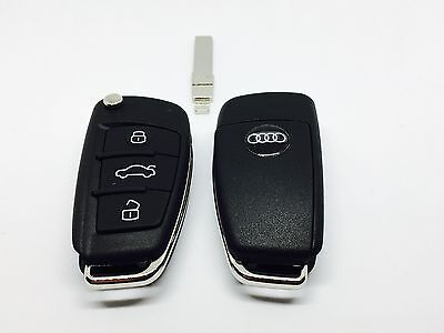 New 3 Button Remote Key For Audi A4 2004 - 2008 With Id48 Can Chip 8E0837220Q