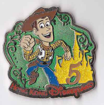 * DISNEY pins - HKDL - Toy Story - 5th Anniversary Mystery Collection - Woody