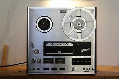 Sony Reel to Reel Tape Machine TC 645
