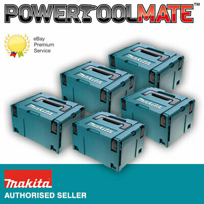 Makita 821551-8 MakPac Type 3 Stacking Connector Case *FIVE PACK*