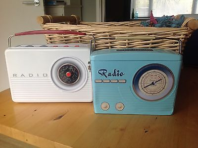 Collectable Radio Biscuit Tins X 2