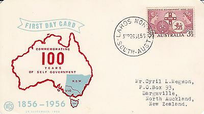 N 2192 WCS Responsible Government September 1956 FD Card; Largs North cds