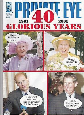 40th Anniverary Edition of Private Eye