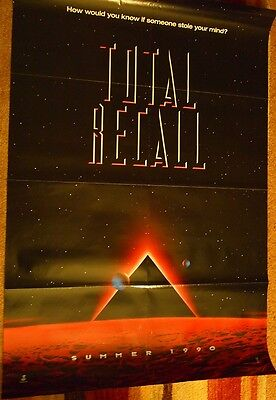 Total Recall  -   advance one-sheet film poster