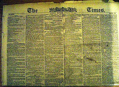 Edition of THE TIMES 6th October 1884