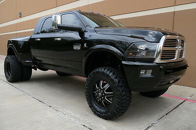 "2012 Dodge Ram 3500 LARAMIE LONGHORN MEGA CAB SHORT BED 6""LIFTED 4WD 2012 DODGE RAM3500 LARAMIE LONGHORN MEGA CAB LIFTED 6.7L 4WD NAV CAM ROOF 1OWNER"