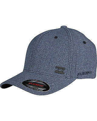Billabong Station Mens Flexfit Cap in Indigo