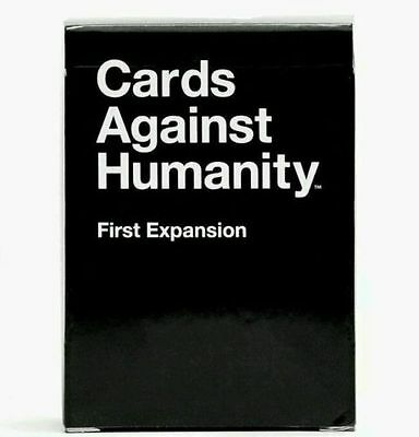 Cards Against humanity:Original First Expansion Pack New and sealed!!!