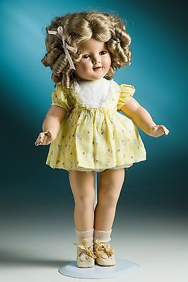 1930's Ideal Shirley Temple 18-inch composition doll