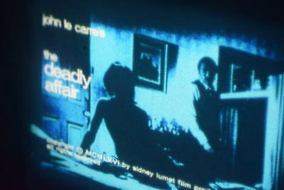 16mm BRTITISH FEATURE  THE DEADLY AFFAIR  3 X 1600FT COLOUR 1967 SPOOKS TYPE
