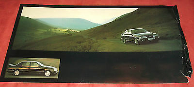 'Ford Sierra RS Cosworth 4X4', Advertising Poster.  C.1990. Very Scarce.