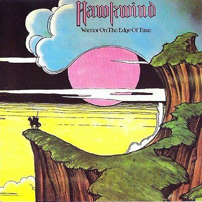 Hawkwind - Warrior On The Edge Of Time YELLOW COLOURED vinyl LP