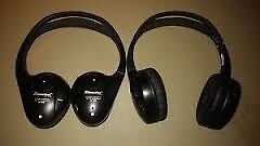 Headphones 2 Pairs Dual Channel Ir Directed