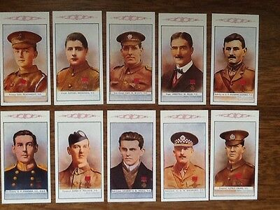 4th SERIES.... VICTORIA CROSS HEROES... ( SET OF 25 CARDS)