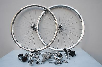 Campagnolo Record Titanium Group Set Wheels Gruppe 2x9 Colnago Cinelli Rohloff