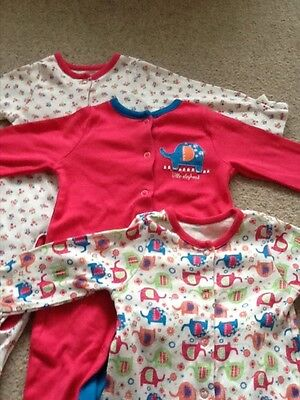baby girl sleepsuits up to 3 months