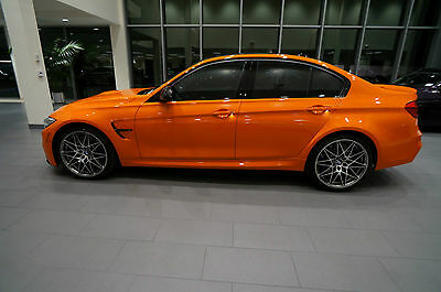 2017 Bmw M3 Carbon Fiber Trim Bmw F80 M3 Competition Package Individual Fire Orange Nr 6 Speed Manual Loaded