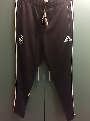Adidas Swansea City Football Club Tracksuit Bottoms Size L Brand New With Tags