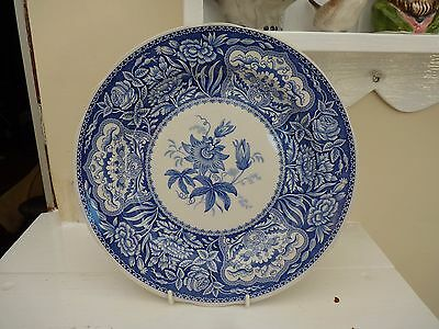 "Spode collectors plate Blue Room collection ""Floral Pattern"""
