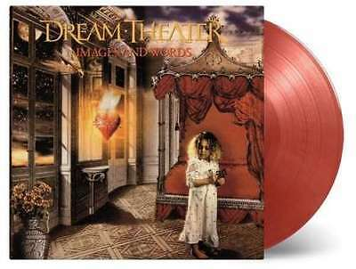 Dream Theater - Images & Words 180g RED COLOURED vinyl LP Theatre