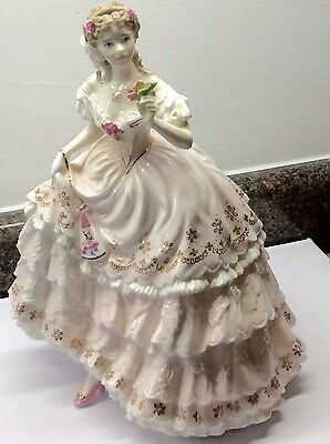 Royal Worcester Figurine 'The Fairest Rose'