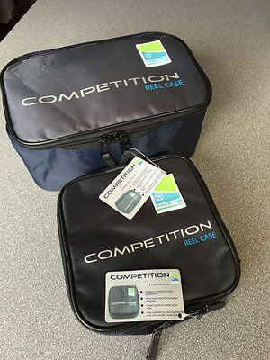 Preston competition luggage reel cases, Standard or Large. Free Postage