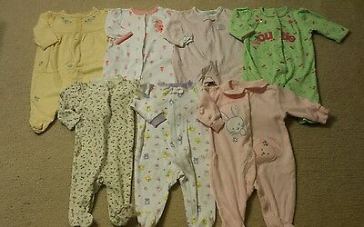 Baby Girl 0-3 Months Spring Clothing Lot