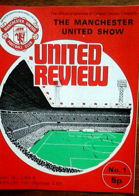 The Manchester United Show Programme 1974