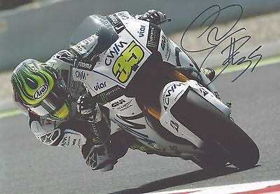 Cal Crutchlow Genuine Hand Signed 12x8 Photograph + COA