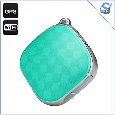 GPS Tracker Locator GSM Wi-Fi LBS Geo Fence SOS Call Real Time Tracking Green