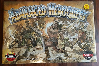 Advanced Heroquest (Role Playing Game) *FACTORY SEALED*