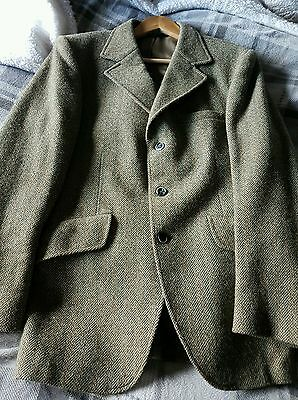 Mens TWEED SPORTS HUNTING HACKING JACKET BLAZER SHOW COMPETITION size S