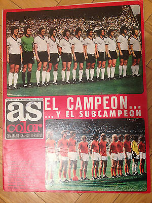 As Final World Cup 1974 Wc74 Germany Netherlands Cruyff Brazil Poland