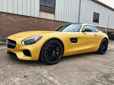 2016 Mercedes-Benz Other  2016 AMG GT-S, Solarbeam Yellow/Black, 331 miles, in as-new condition