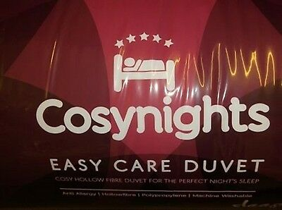 NEW Luxury CosyNights EasyCare DUVET / QUILT - 13.5 TOG Ratings -  Tog King Size