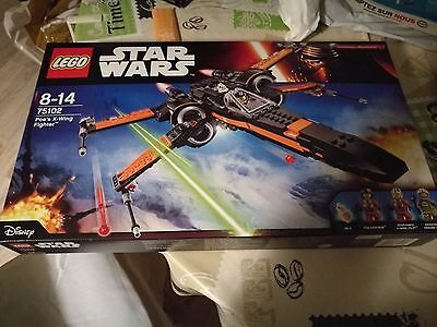 NEUF - Lego star wars 75102 - Poe's X-Wing Fighter