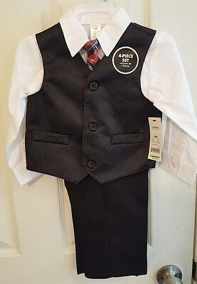 NWT George Boy's 4pc Suit 24 Months Easter Christmas Special Occasion