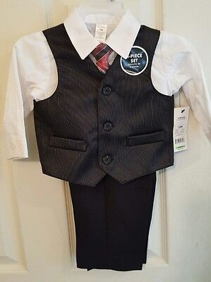 NWT George Boy's 4pc Suit 12 Months Easter Christmas Special Occasion