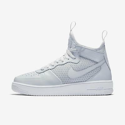 Nike Air Force 1 Ultraforce Mid 864014 002 Pure Platinum white - Ultra  Force Af1 52d6a9446c