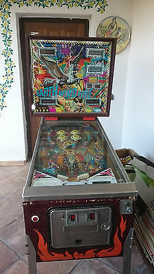 Flipper Earth  Wind Fire   Vintage  Gioco Bar Flipper